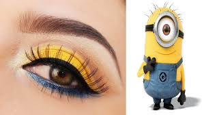 weareable minion s inspired makeup tutorial