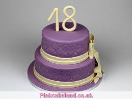 Fondant Cake Ideas 18th Birthday Cake Image Diyimagesco