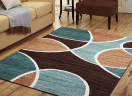 extraordinary blue and brown area rugs in better homes gardens geo waves rug or runner com