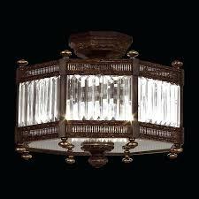 newest candice 4 light antique black semi flush mount crystal chandelier s8706021