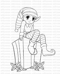Small Picture Girl Elf Coloring Pages To PrintElfPrintable Coloring Pages Free