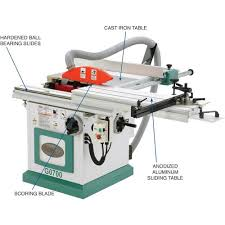grizzly sliding table saw. grizzly-g0700-sliding-table-saw-with-scoring-blade- grizzly sliding table saw l