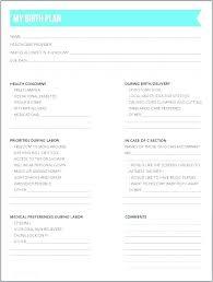 C Section Birth Plan C Section Birth Plan Template Notes Scheduled Gentle