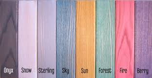 colors of wood furniture. Dapwood Colors- Onyx, Snow, Sterling, Sky, Sun, Forest, Fire Colors Of Wood Furniture .