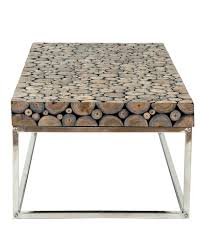 block coffee table round wood block coffee table with stainless steel base grey solid wood block coffee table