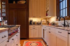country kitchen designs with island. a smaller country kitchen with light granite countertops in beige and combination of aged white designs island o