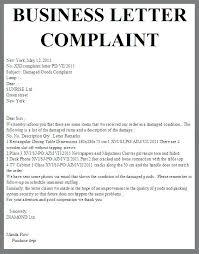 Letter Of Complaints Sample Letter Of Complaint Sample Complete Brilliant Ideas Plaint Template