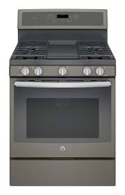 ge slate gas range. GE - 5.6 Cu. Ft. Self-Cleaning Freestanding Gas Convection Range Slate Ge 0