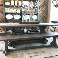 DIY Industrial Corbel Dining Bench Chairs and Benches Archives - Shanty 2 Chic