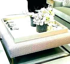 large square ottoman tray storage coffee table round top