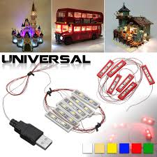<b>Universal DIY LED</b> Light Lighting Kit For Lego MOC Toy Bricks Bar ...