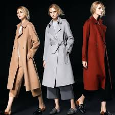 las camel coat fashion silver grey caramel camel women wool coats high quality winter coats las