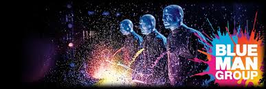 Image result for blue man group