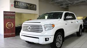 Review of a New 2017 Toyota Tundra Platinum with Jari (166642 ...