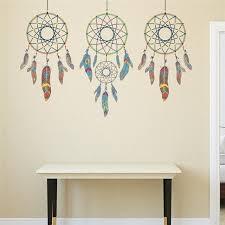 Dream Catchers Furniture Creative Indian Style 100 DreamCatchers Wall Stickers Creative 22