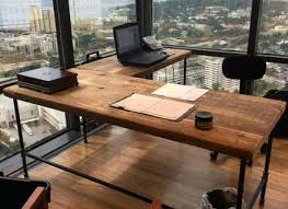 office desk solid wood. Wooden Office Desk Solid Wood Furniture Made Home R