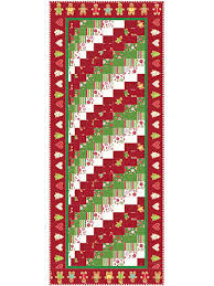Christmas Table Runner Patterns Classy Holiday Table Topper Patterns Christmas Rainbow Bargello Table