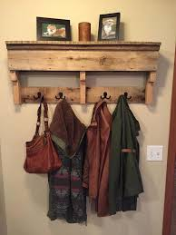 pallet furniture etsy. rustic pallet wood furniture coat rack shelf etsy i