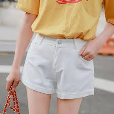 Womens Patterned Shorts Adorable HUIHONSHE Spring And Summer Women's Fashion Casual Skinny Denim