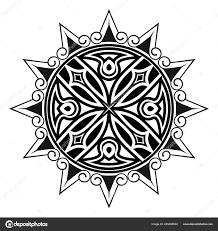 векторное изображение структур стилизованный крест звезда