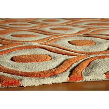 new burnt orange area rugs ( photos)  home improvement