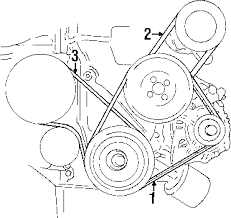 hyundai elantra belt diagram hyundai hyundai 2521223021 genuine oem alternator belt