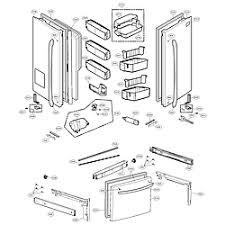 lg refrigerator parts diagram. door parts lg refrigerator diagram