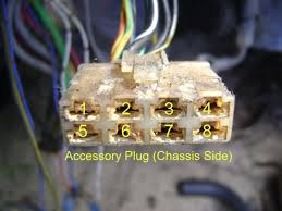 lots of swap wiring info swaps red pepper racing How To Remove Pins From Wire Harness first thing to do is to swap around 4 wires on the accessory plug swap the yel grn coolant sender wire (pin 1) with the grn blk reverse light wire (pin 6) how to remove metal pins from wire harness