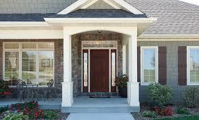 pella fiberglass or steel entry door doors with sidelights o42