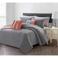 orange comforter comforters