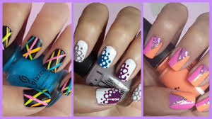 easy nail art designs for beginners step by step easy nail art ...