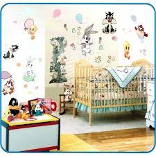 decoration baby tunes nursery decor balloon fun jumbo stick ups looney crib bedding sets