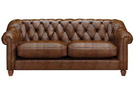 belgravia 3 seater leather sofa