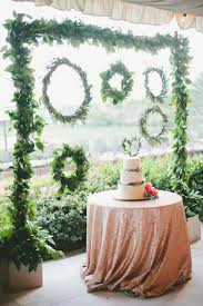 flowers wedding decor bridal musings blog: foliage is the new flowers bridal musings wedding blog
