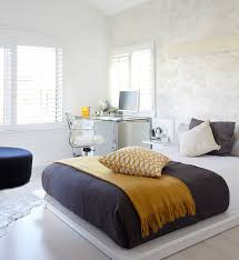 Office In Bedroom 25 Creative Bedroom Workspaces With Style And Practicality