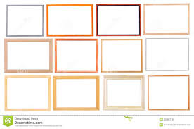 modern white picture frames. Set Of Simple Modern Wooden Picture Frames White