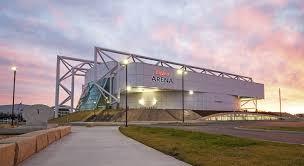 Hyvee Arenas Modern Multi Level Sports Complex Repurposes
