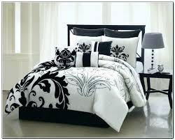 black and white comforter queen black and white comforter medium size of black white bedding set