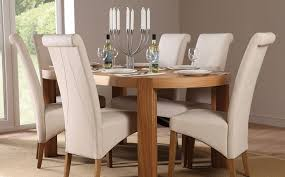 decorative cream dining table set 6 cool and chairs uk 92 about remodel room