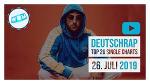Deutschrap Charts Top 20 Deutschrap Charts 26 Juli 2019