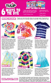 enjoy this handy dandy guide for making your next tie dye project there s so many fun techniques to try out