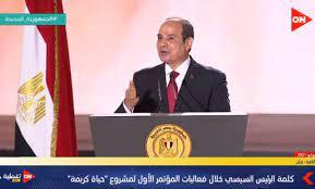 السيسي: الشعب المصري أثبت عبقريته الراسخة في مواجهة موجة من الإرهاب