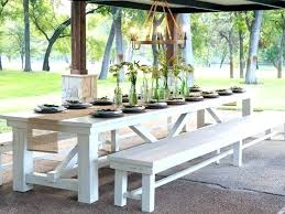 long outdoor dining table wood plans large round nashidetiinfo large outdoor dining table diy