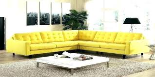 er yellow leather sofa cabinets beds sofas and furniture