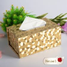 Decorative Kleenex Boxes 100D Pattern Household Table Adornment Merry Christmas Decorative 2