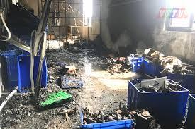 Cháy xưởng sản xuất đồ chơi trẻ em tại xã Minh ...