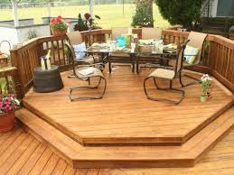 patio deck kits with patio furniture set and wooden deck pattern