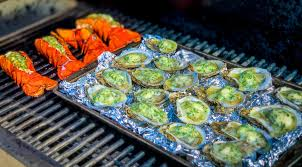 The word christmas brings many images into the minds of these are just a few of the traditional food items many people eat at christmas. A New Christmas Tradition Preparing A Non Traditional Meal On Your Memphis Grill