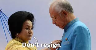 Image result for Najib and his wife Rosmah were not satisfied stealing only millions
