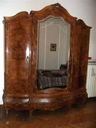 vintage antique furniture wardrobe walnut armoire. Bedroom Furniture Armoire With Beautiful Vintage Antique Set X Dressers Armoires Wardrobe Walnut O
